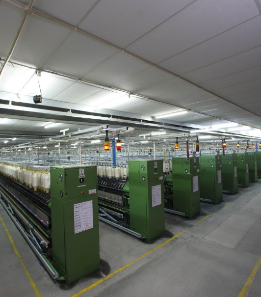 Spinning Mills - Cotton Yarn Manufacturers - Loyal Textiles
