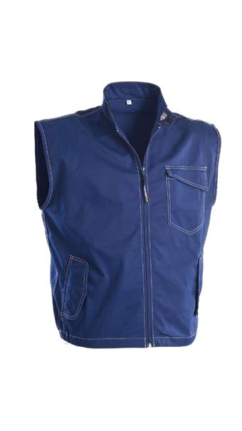 bg line blue waistcoat