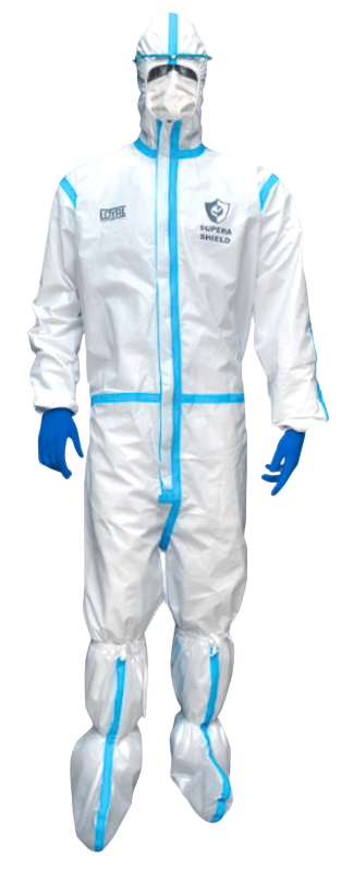 disposable ppe coverall