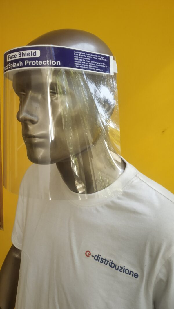 face shield by loyal textiles