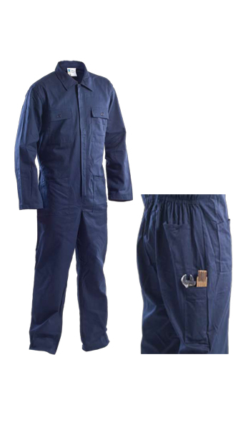 navy blue coveralls work wear