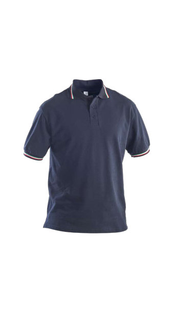 polo action short sleeve blue