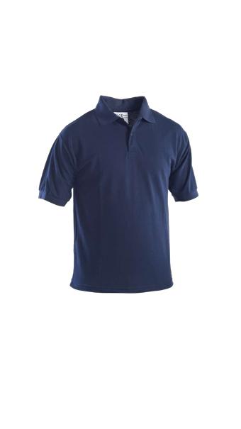 half sleeve polo t shirt blue
