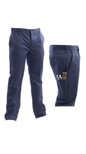 pantalone winter pant blue