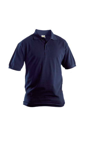 blue polo short sleeves