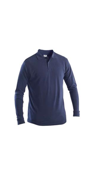 blue polo full sleeves