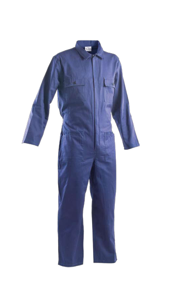 blue coveralls loyal textiles