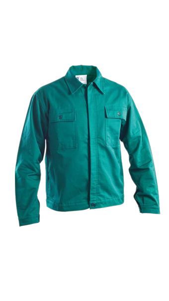 green winter jacket work wear