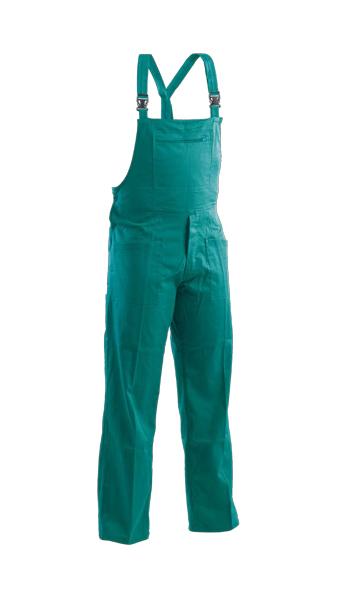 colored bib pant green