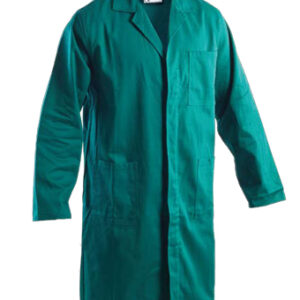 green colored long coat