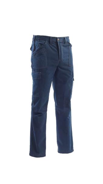 pants blue loyal textiles