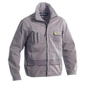 powerful jacket grey loyal textiles