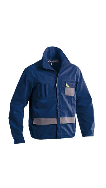 powerful jacket navy blue loyal textiles