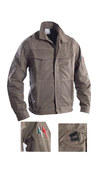 jacket 001 grey loyal textiles