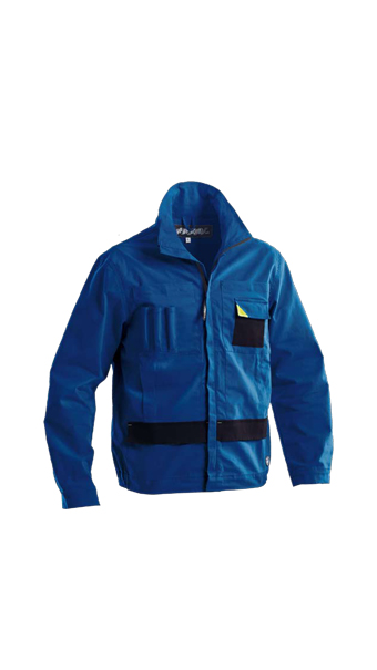 powerful jacket blue loyal textiles
