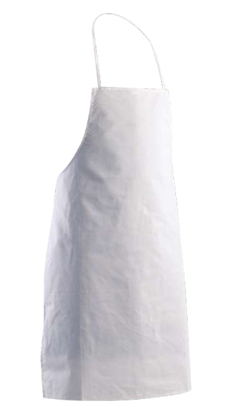apron with bib and pocket