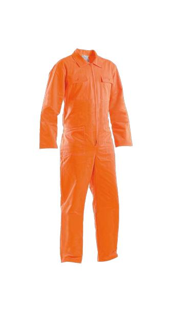 orange coveralls work wear