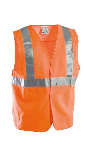 protective waistcoat orange