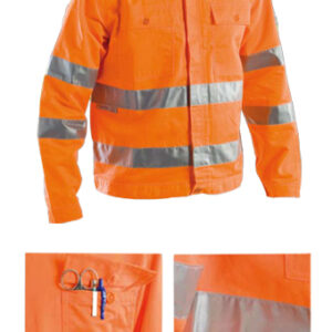 protective summer jacket orange