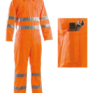 orange coveralls