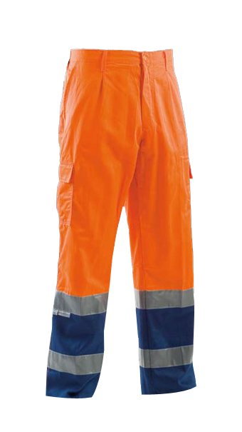 protective orange summer pant