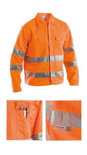 protective summer jacket orange