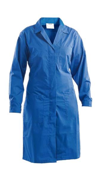 royal blue long coat for women