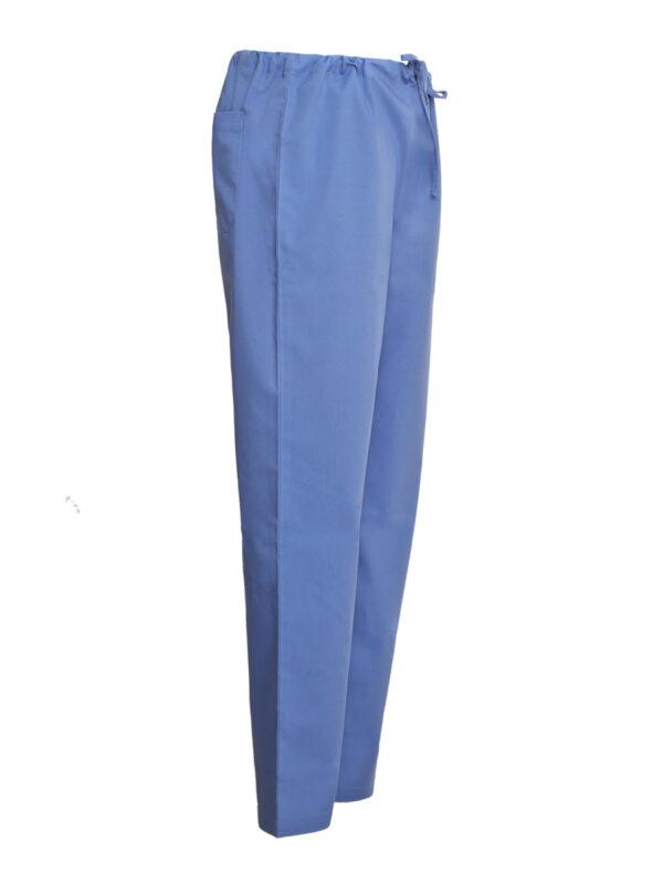 sky blue scrub pants