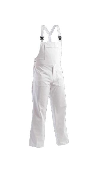 bib pant work wear white